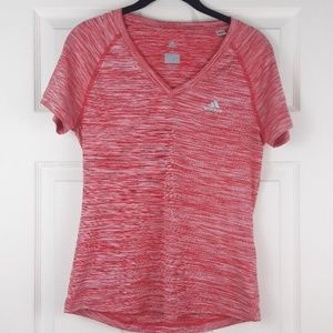 Adidas Climalite v-neck workout top